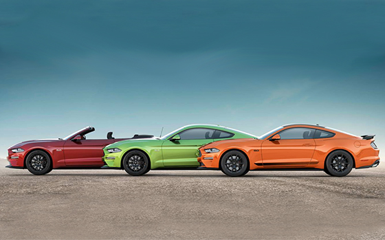 Ford Pays Homage to Mustang Heritage