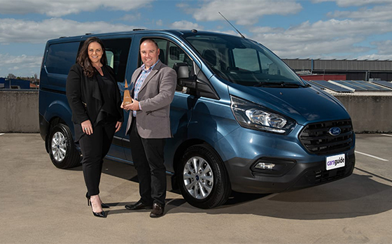 The Ford Transit Custom announced as the 2019 CarsGuide 'Tradie Car of the Year'