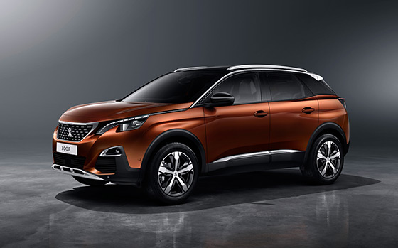 Peugeot 3008 SUV Named