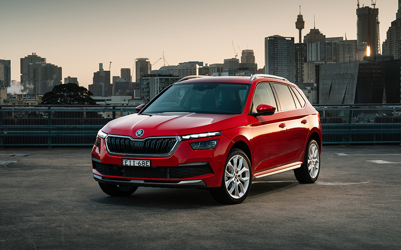Simply Clever in the city: ŠKODA's KAMIQ small SUV