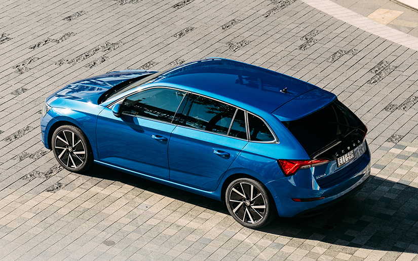 ŠKODA's feature-packed SCALA is here
