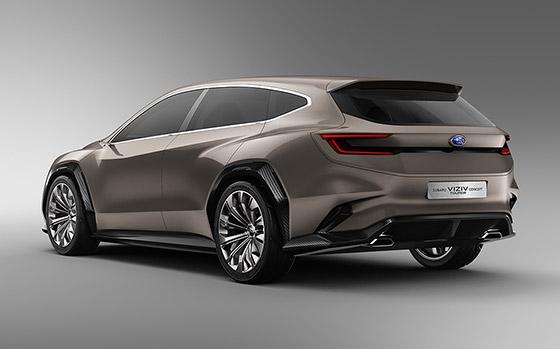 Subaru Viziv Tourer Concept Debuts In Geneva News Jarvis