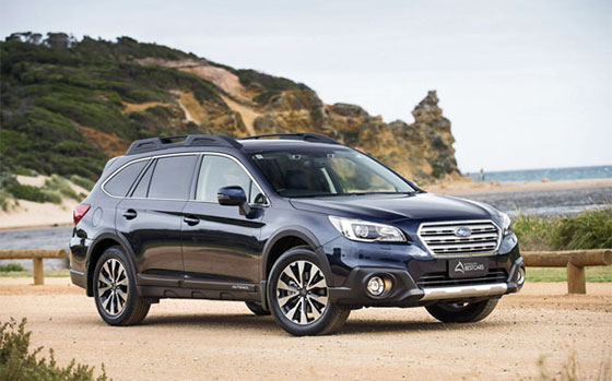 Subaru Outback Backs-Up Australia's Best Cars Win