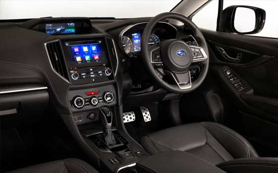 New Impreza Scores Interior Award