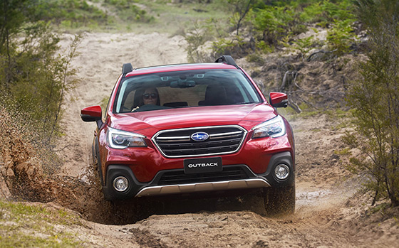 Subaru Outback is ABC Winner Three Consecutive Times