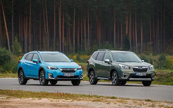 Subaru To Debut Hybrid SUVs