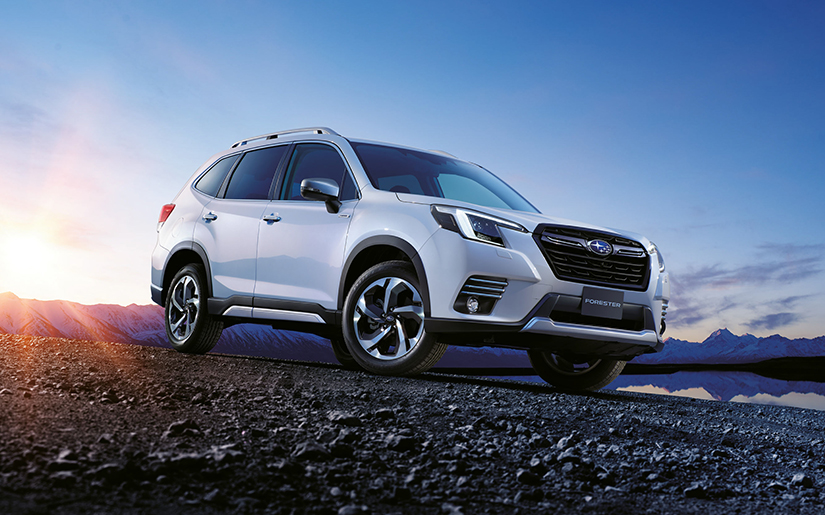 Forester Adds To Best-Selling Appeal