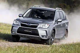 Forester Awarded Australia's Best Car Gong