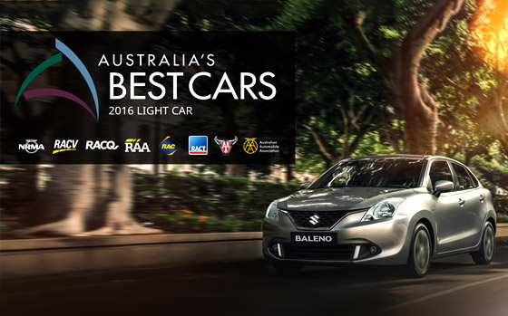 Suzuki Baleno Wins Australia's Best Cars Award
