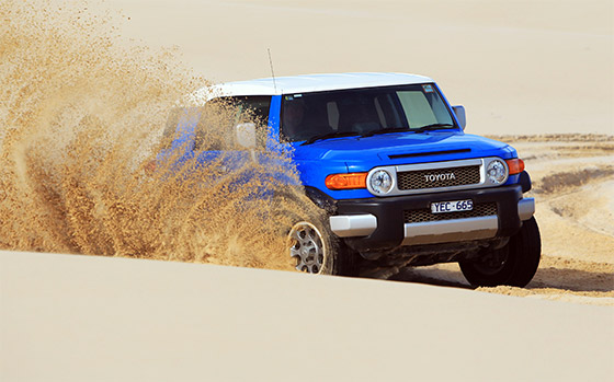 FJ Cruiser scoops 4x4 of the year award