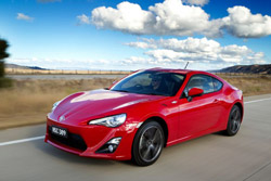 Toyota 86 is the People's Choice