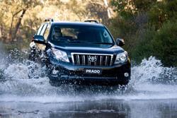 Toyota Prado Diesel judged best in class