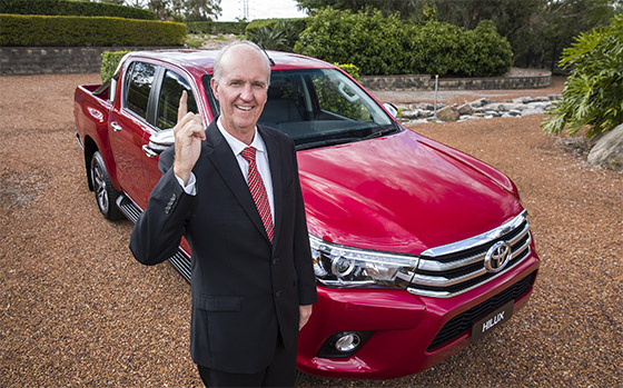 Toyota HiLux: Australia's best selling car