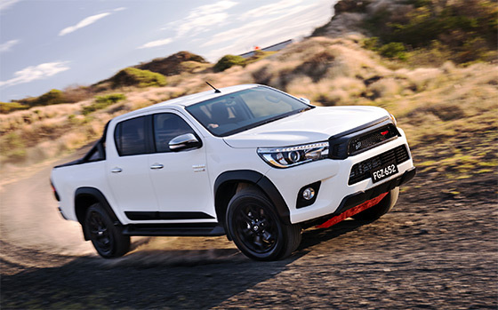 HiLux leads Toyota to best March in seven years