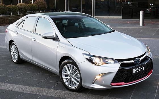 Toyota releases commemorative Camry
