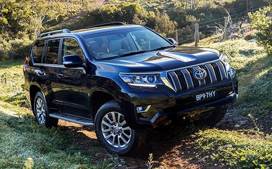Toyota previews updated Landcruiser Prado