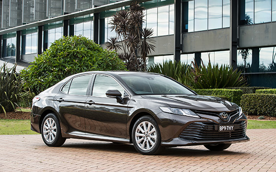 Camry Hybrid wins Australia's Best Cars Award