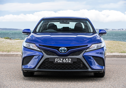 Toyota Camry Hybrid Crowned Drive Car of the Year for 2018