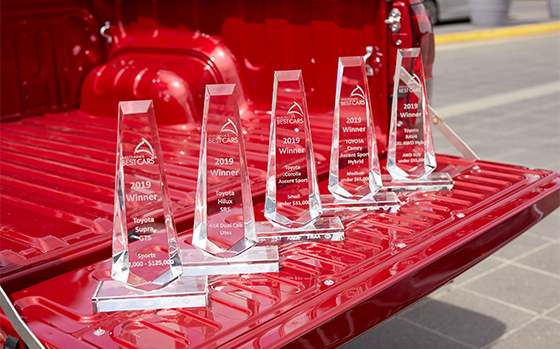 Toyota Dominates Australia's Best Cars Awards