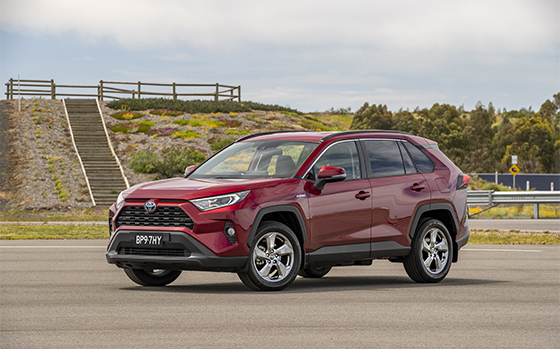 Toyota's Hybrid RAV4 Wins Drive Car of the Year