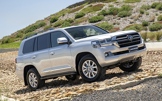 Special Edition Toyota Landcruiser on the Horizon