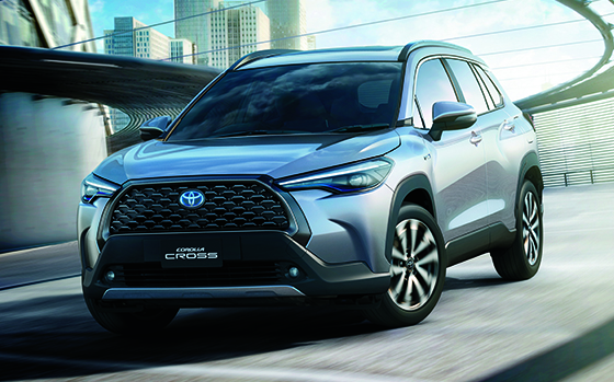Toyota Crosses Corolla with Robust SUV Style at Global Reveal