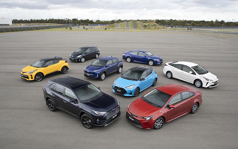 Toyota Celebrates 200,000 Hybrid Electric Sales in Australia