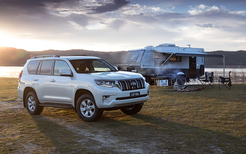 Toyota Boosts Style and Safety for Landcruiser Prado