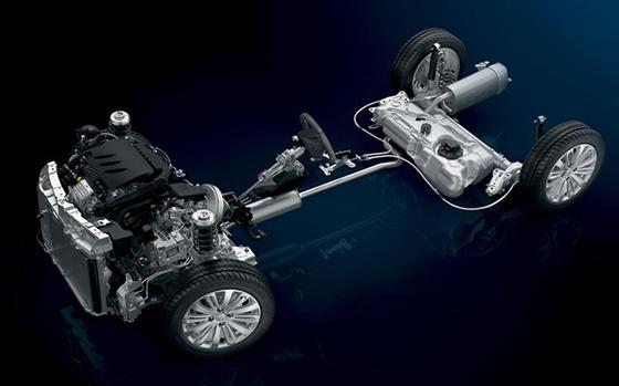 Peugeot 208 Suspension
