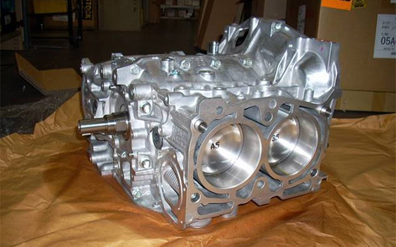 Genuine Subaru EJ207 2.0L STi short block