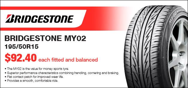 Bridgestone Tyre Special
