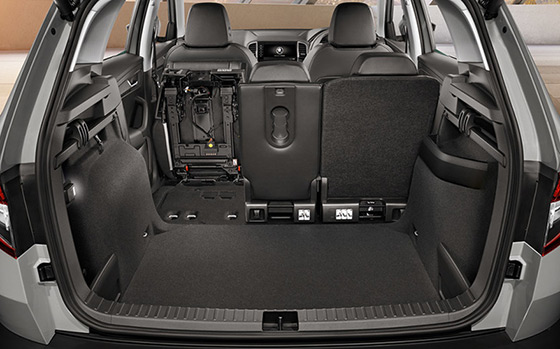 Skoda Karoq luggage space