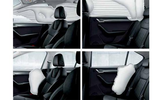 SKODA Octavia-airbags