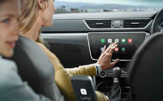 SKODA Superb Infotainment