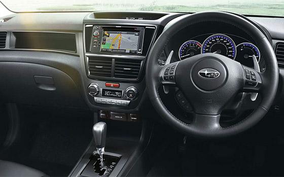 Subaru Exiga dash