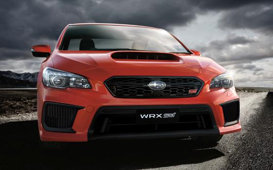 Subaru WRX STI powerful