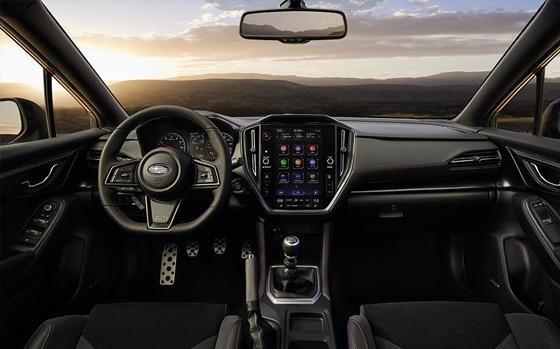 Subaru WRX interior