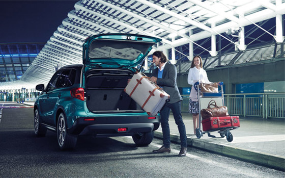 Suzuki Vitara flexability