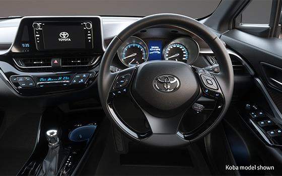 Toyota C-HR SUV interior