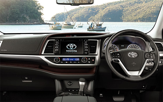 Toyota Kluger sspace