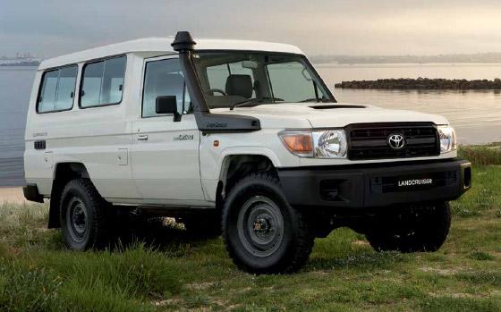Toyota LandCruiser 70 tender