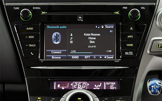 Toyota Prius v audio